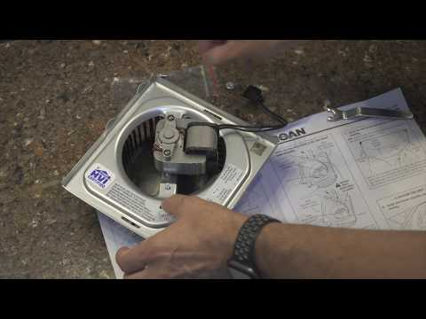 DIYnot Quick Fix - Broan Bathroom Fan Upgrade Kit
