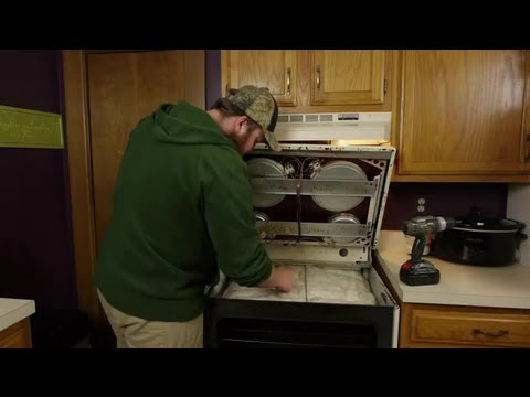 How Do I Repair an Electric Glass Top Stove? : Electrical Repairs