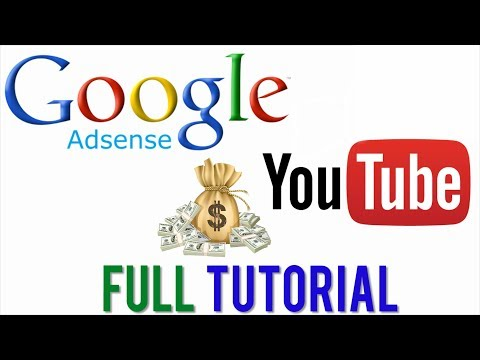 How To Set Up Google Adsense Account For Youtube  - Step By Step