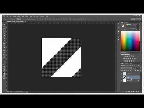 Photoshop Create Diagonal Pattern