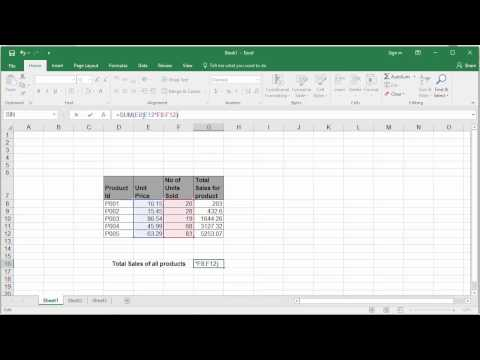 Introduction to Multi Cell and Single Cell Array Formulas of Excel 2016