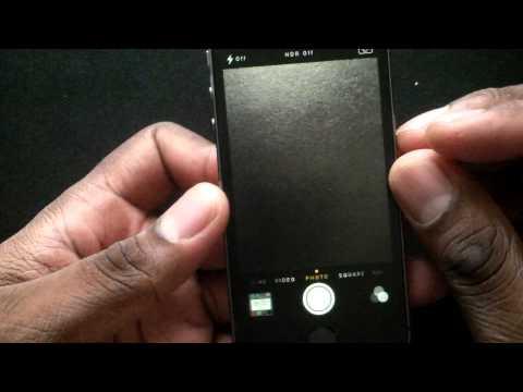 iPhone 5S Camera settings!