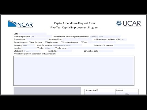 5 Tips: Capital Expenditure Request Form