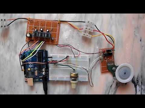 Sensored BLDC motor control with Arduino