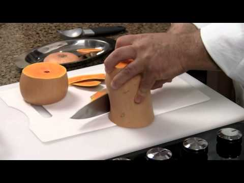 How to Cube and Peel Butternut Squash