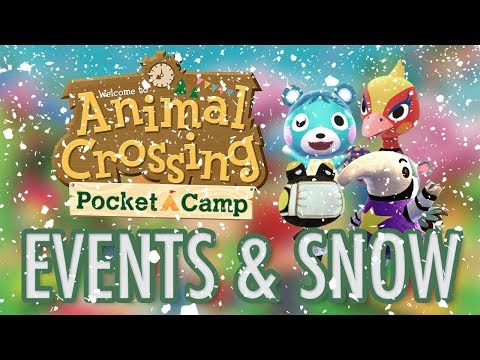 Animal Crossing Pocket Camp - SNOW IS COMING!