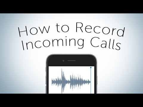 Quick Tip - How to record Incoming Calls
