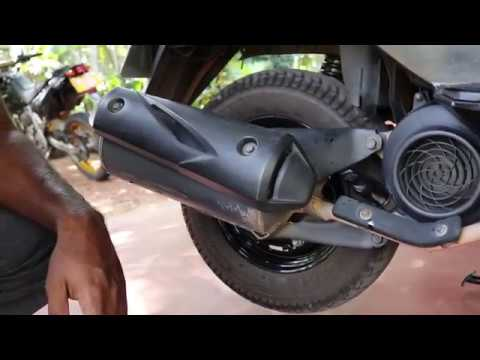HONDA DIO ENGINE OIL CHANGE AND STRAINER CLEANING INSTRUCTIONS IN SINHALA