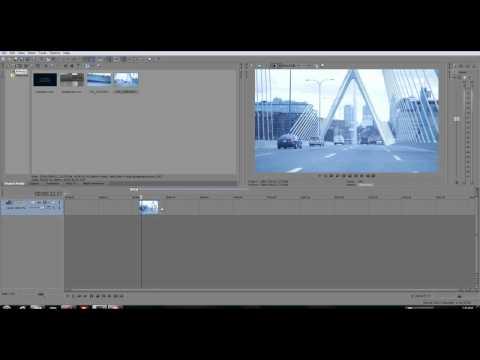 Sony vegas pro 10 Tutorial - Slow motion