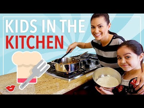 How to Get Your Kids to Help in the Kitchen| Kimberly from Millennial Moms