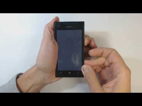 Nokia Lumia 900 hard reset