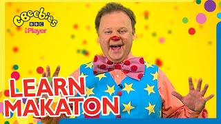 Learn Makaton with Mr Tumble and Justin from CBeebies Something Special