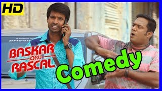 Bhaskar Oru Rascal Tamil Movie , Full Comedy Scenes , Arvind Swamy , Soori , Robo Shankar