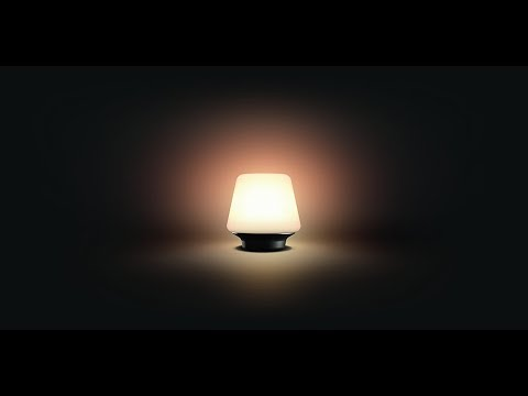 Philips Hue Wellness Table Lamp Unboxing