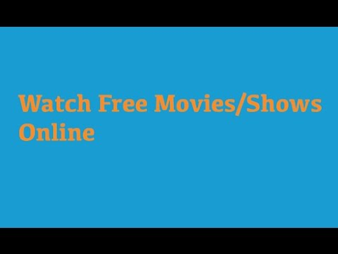 How to watch free Movies/Shows Legally! MobileVids