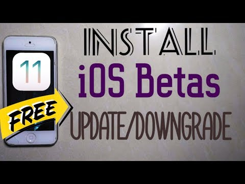 How To Install iOS 11 Betas Without a Developer Account Update and Downgrade iOS Firmwares