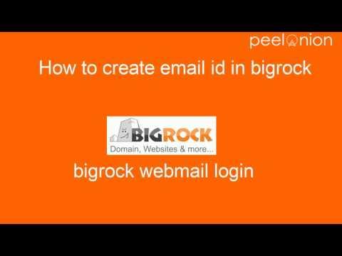How to create email id in bigrock? Bigrock webmail login