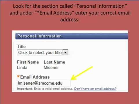 How to Change Your Email Address in MML
