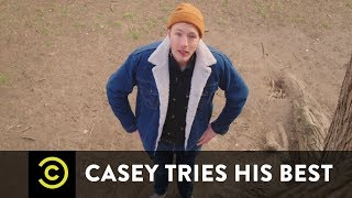 Animal Rescue Casey Tries His Best
