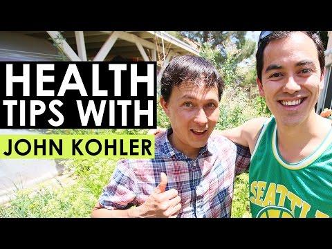 Health Tips with John Kohler from Growing Your Greens- BenjiManTV