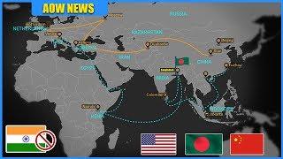 ভারত'কে বাদ দিয়ে বাংলাদেশ'কে এশিয়ার রাজা বানাতে পারে চীন-যুক্তরাষ্ট্র !! BRI & Indo Pacific Strategy