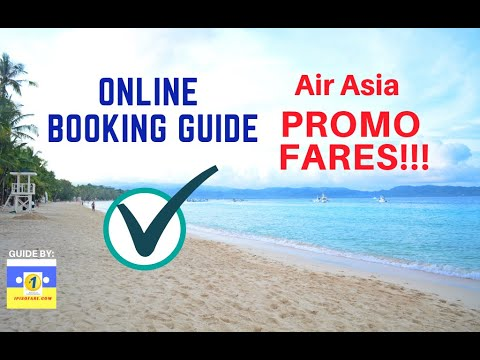 2017 Online Booking AirAsia Promo Tickets