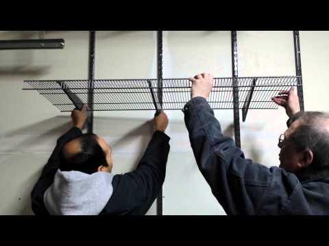 ToughStuff shelves and brackets installation