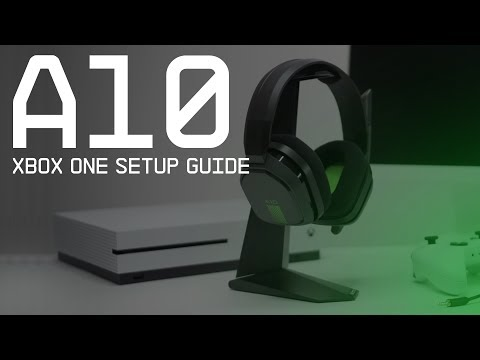 A10 Gaming Headset Xbox One Setup Guide    ASTRO Gaming