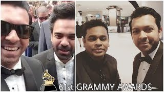 Tahsan Khan & Habib Wahid at Grammy Awards 2019 | Selfie with AR Rahman | Live videos from IG & FB