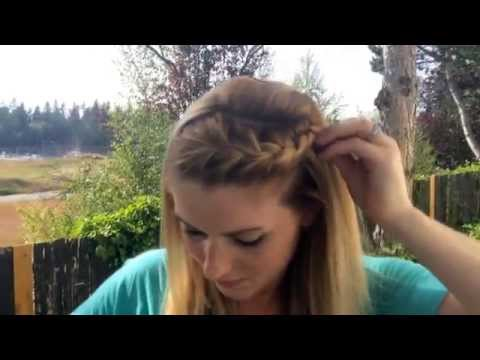 How To Create a Quick Front French Braid
