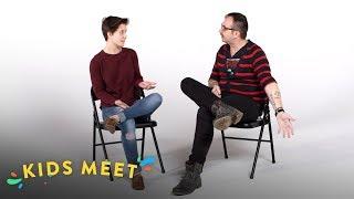 Download Kids Meet A Gay Conversion Therapy Survivor   Kids Meet   HiHo Kids Video