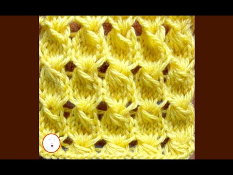 KNITTING FOR BEGINNERS| Embossed Knitting Stitches