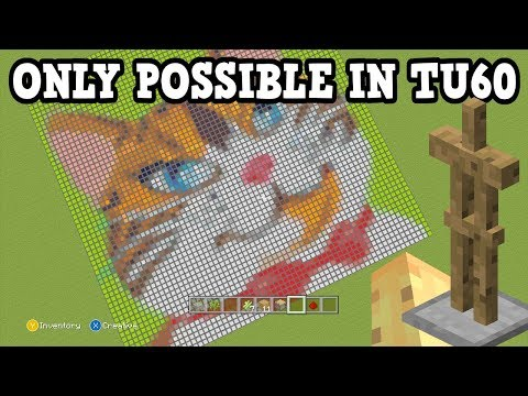 Minecraft Xbox 360 / PS3 - 4 Builds ONLY POSSIBLE NOW In TU60