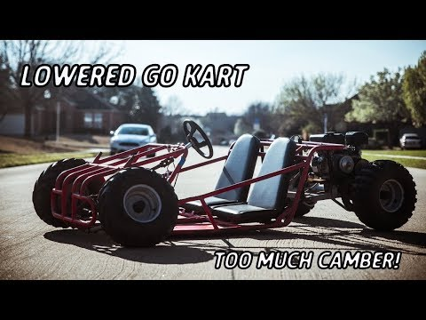 Slamming The Off Road Go Kart!