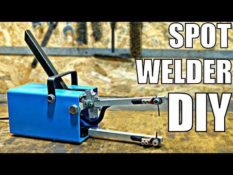 CHEAP Spot Welder DIY (using simple tools)