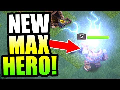 GEMMING NEW HERO TO MAX LEVEL!! -