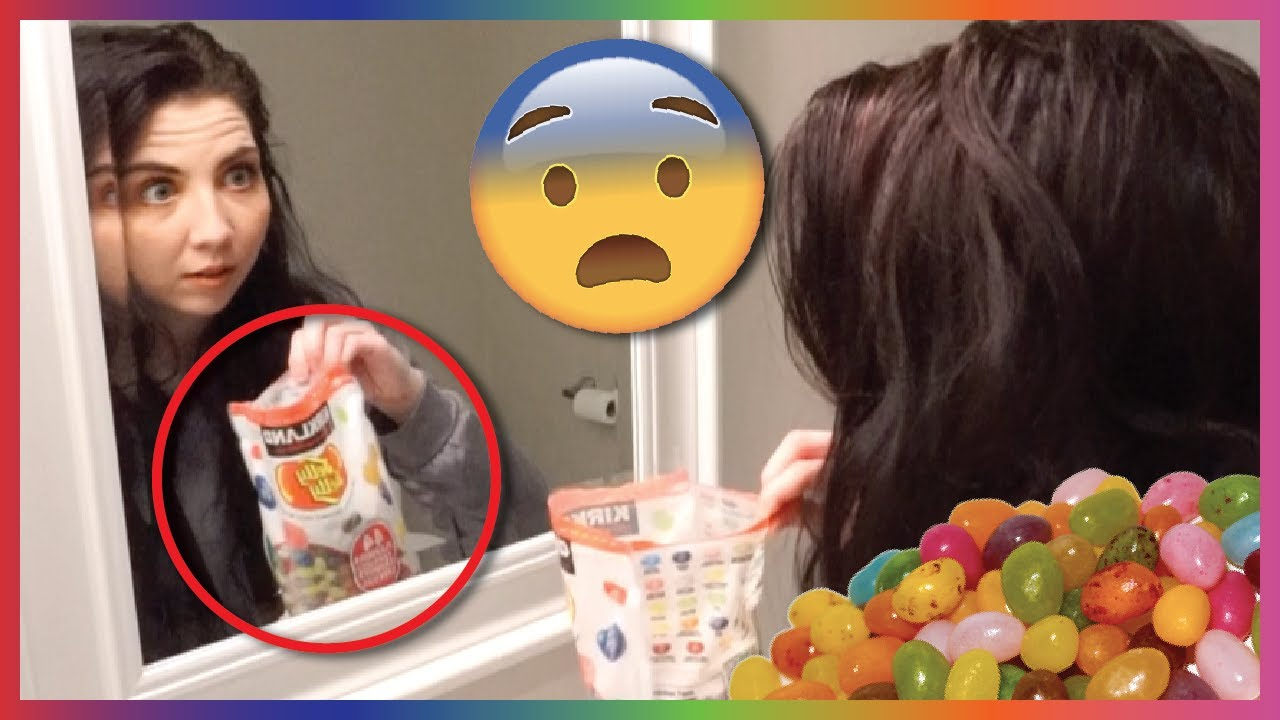 We Played The Paranormal Jelly Bean Game...