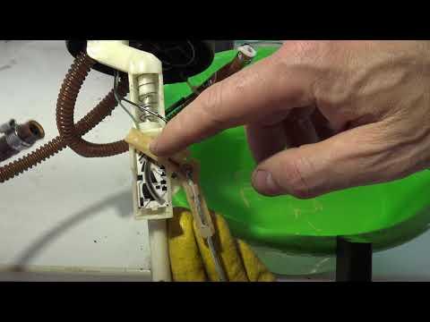 How works Fuel tank level meter sensor