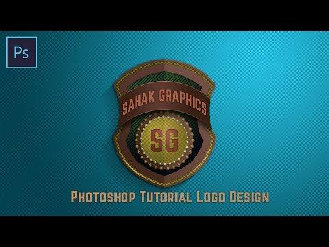Photoshop Tutorial   Shield Logo Design   By ( SG )