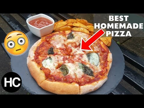 BEST MARGHERITA PIZZA RECIPE! Pizza Recipe - How to make Pizza