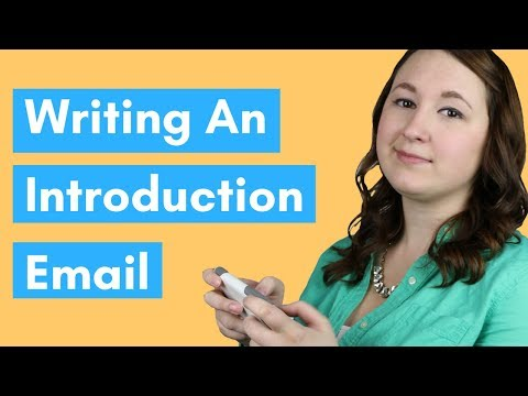 How To Write An Introduction Email
