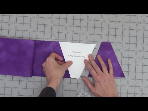 How to Make a Fabric Cutting Template - Quilting Basics Tutorial #11 with Leah Day