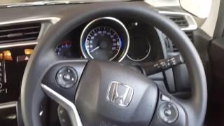 Honda mini suv WRV interior after two week milage
