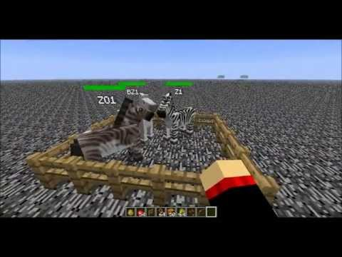 Minecraft 1.5.2 Mo Creatures ~Horse Series~ How to Get a Zorse