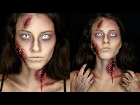 Zombie Halloween Makeup Tutorial!