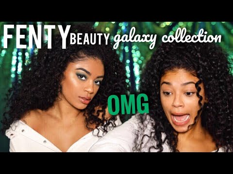 FENTY BEAUTY by Rihanna Galaxy Collection | jasmeannnn