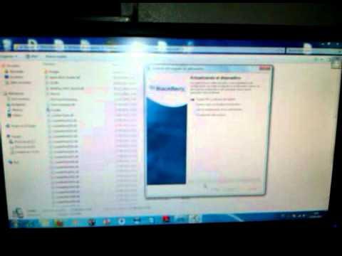 Blackberry 9530 error al cargar el software