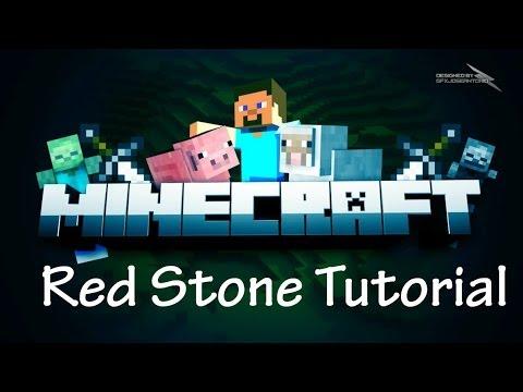 Minecraft 1.7.9: Redstone Tutorial - Compact 2x2 Piston Door