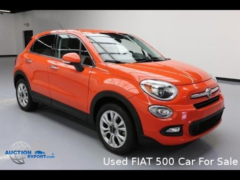 Used FIAT 500 for Sale in USA, Shipping to Switzerland