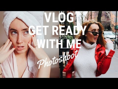 Get Ready With Me Vlog (A Day In My Life) | Photoshoot in NYC